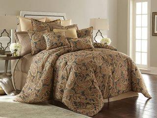 King  Sherry Kline Venetian 3 piece Comforter Set Retail 241 26
