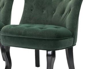 Pine Green Jane Accent Chair Single