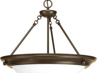 Progress lighting 3 light Pendant lighting Fixture N A Retail  97 99