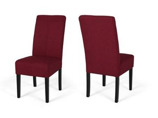 Pertica Wooden Dining Chairs  Set of 2  by Christopher Knight Home  Retail 183 99