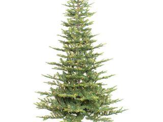6 1 2 ft  Pre lit Aspen Green Fir Artificial Christmas Tree 500 Ul listed Clear lights