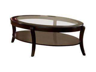 Finley Contemporary Coffee Table In Espresso Finish  Retail 314 99