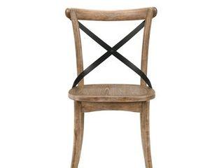 Set of 2 ACME Kendric Side Chair  Set 2  in Rustic Oak