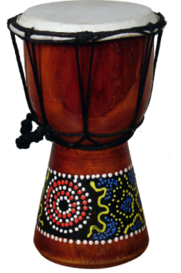 Handmade Jembe Drum