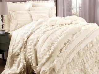 Gracewood Hollow Quist Ruffle 4 piece Comforter Set   Queen Retail 137 49