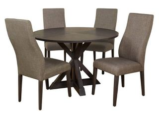 Simple Grey living Glen Trestle Dining Chairs  2