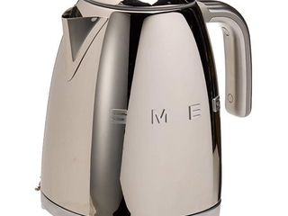Smeg 50 s Retro Style Aesthetic Electric Kettle  Polished Stainless Steel Retail  169 95
