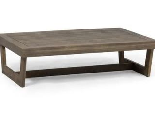 Sherwood Outdoor Acacia Wood Coffee Table by Christopher Knight Home Retail 139 99