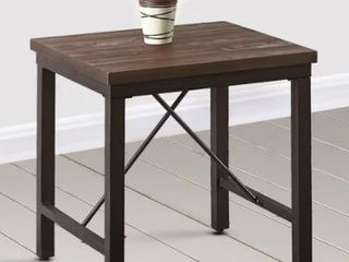 Jaxon Industrial Style End Table by Greyson living Retail 91 49