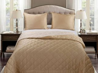 Cream Champagne   Queen Standard Sham Retail 76 98
