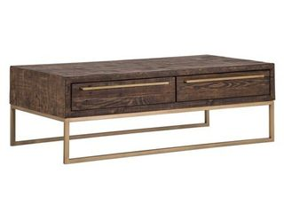 Monterey Wood Coffee Table in Smokey Taupe Retail 495 99
