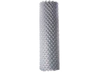 AlEKO ClF125G6X50 Galvanized Steel 6 X 50 Feet  1 8 X 15m  Chain link Fence Fabric  12 5 AW Gauge