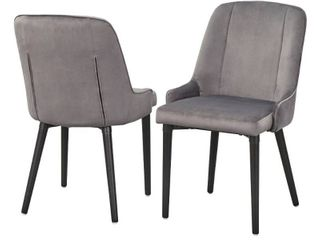 lifestorey Welland Dining Chair  Set of 2  Retail 222 49