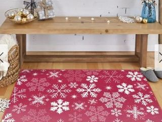 Mohawk Prismatic Snow Flake Area Rug