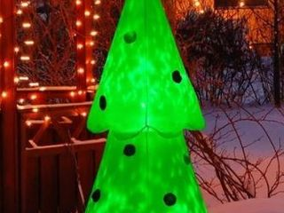 6 foot lED light up Outdoor Inflatable Glowing Christmas Tree