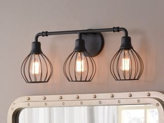 Cagney 3 light Vanity Ceiling lights   Kenroy Home