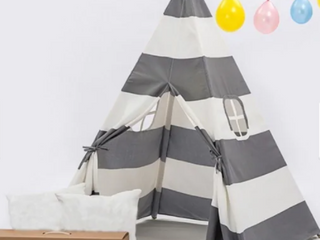 Teepee Tent for Children with Carry Case  Toys for Girls Boys Indoor   Outdoor Playing