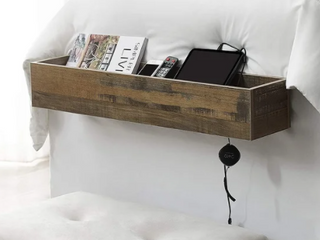 Rustic  Yak About It Dorm Bedside Organizer