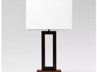 large Weston Window Pane 14  Tall Table lamp with Shade   Project 62a  RETAIl  40 00   Matches lot 73053