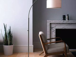Arc Floor lamp Silver   Project 62a  RETAIl  80 00