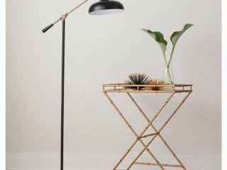 Crosby Schoolhouse Floor lamp Black   Thresholda  RETAIl  70 00