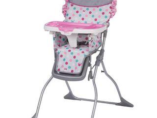 Disney Baby Simple Fold Plus High Chair  Minnie Dot Fun  RETAIl  59 99