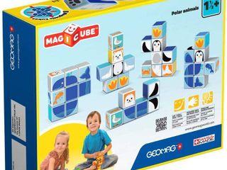 Fat Brain Toys   Geomag Magicube Polar Animals   8 Piece  RETAIl  32 95