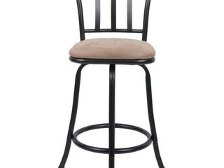 Robinson Swivel Seat Adjustable Height Barstool   Cheyenne Products  RETAIl  35 00   Matches lots 73108   73110