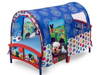 Disney Mickey Mouse Delta Children Toddler Tent Bed  RETAIl  89 99