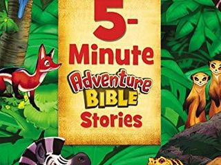Hardcover 5 Minute Adventure Bible Stories  RETAIl  12 99