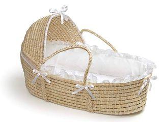 Badger Basket Natural Moses Basket with Hood  RETAIl  60 99