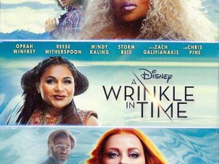 A Wrinkle in Time  Blu Ray   DVD   Booklet    Great STOCKING STUFFER   RETAIl  24 99