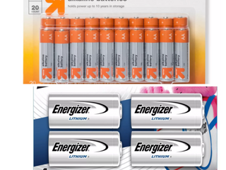 MIXED lOT  Energizer 4pk 123 Batteries lithium Photo Battery   AA Batteries   20ct   Up Upa  RETAIl  30 48