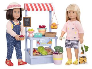 Our Generation Deluxe Farmer s Market Set  RETAIl  49 99