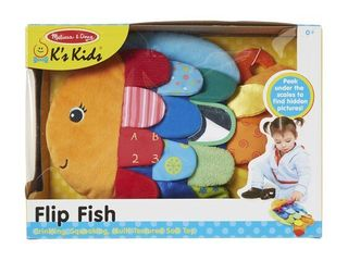 Melissa   Doug Flip Fish Baby Toy  RETAIl  16 99