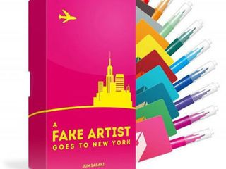 A Fake Artist Goes to New York Party Game  RETAIl  19 95    STOCKING STUFFER