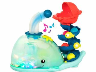 B  Toys Poppity Whale Pop Musical Ball Popping Toy  RETAIl  32 99