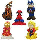 Disney Marvel Avengers 6pc Bath Figure Set  RETAIl  19 99