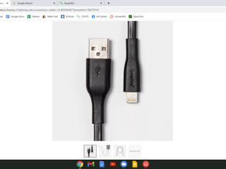 heyday 3  lighting USB Round PVC Cable   Black  RETAIl  10 00    GREAT STOCKING STUFFER