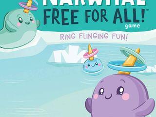 Narwhal Free for All Game  Ring Flinging Fun   RETAIl  19 99