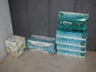 8 Boxes Kleenex