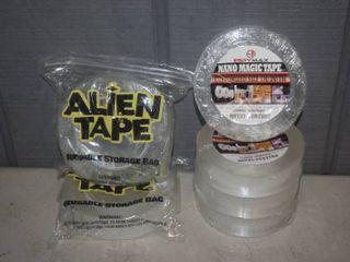 6 Rolls Clear Tape