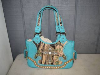 Conceal and Carry leather Purse   the zipper in the back holds your handgun