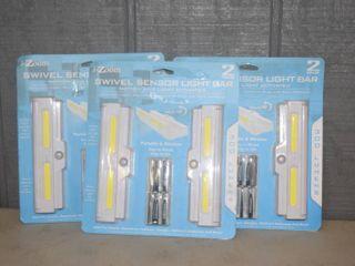 6 i Zoom Swivel Sendor light Bars lED