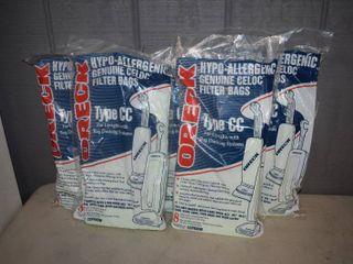 40 Oreck Type CC Vacuum Cleaner Bags