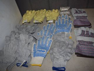 21 Pairs of Gloves