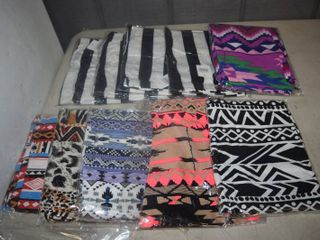 10 Pairs of leggings   One Size   Super Soft Group 3