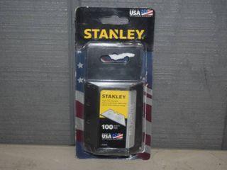 100 Stanley All Purpose Razor Blades