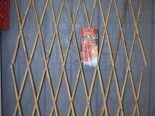 Bamboo Fence or Trellis 4  x 6