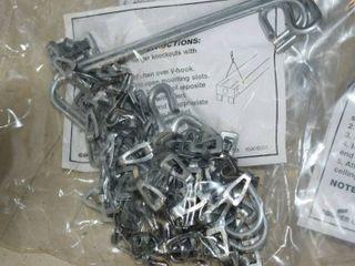 24 Metalux AYC Chain Set   Fixture Hanging